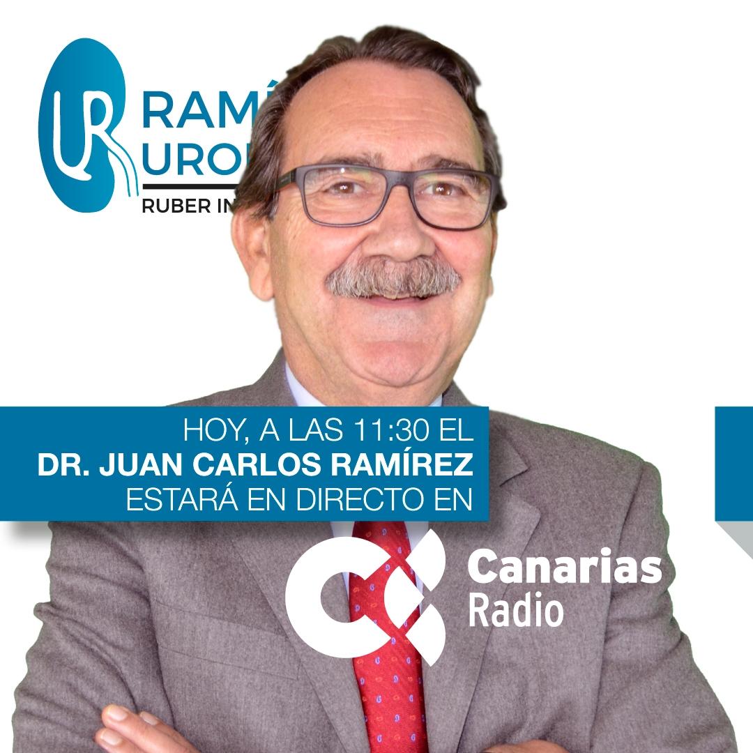 Dr. Juan Carlos Ramírez, jefe del Servicio de Urología y Litiasis del Hospital Ruber Internacional de Madrid